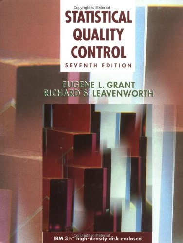 9780078443541: Statistical Quality Control (McGraw-Hill Series in Industrial Engineering and Management)