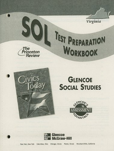 9780078451119: Virginia Civics Today: SOL Test Preparation Workbook