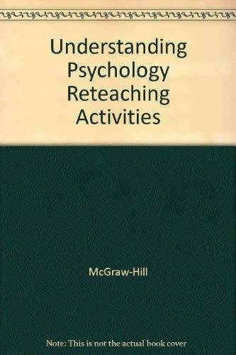 9780078453731: Understanding Psychology Reteaching Activities