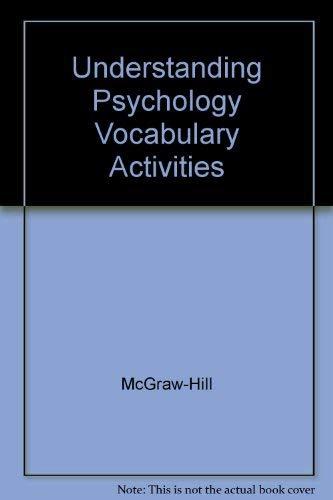 9780078453748: Understanding Psychology Vocabulary Activities