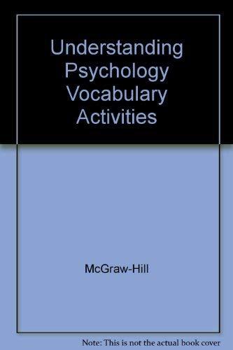 9780078453748: Understanding Psychology Vocabulary Activities
