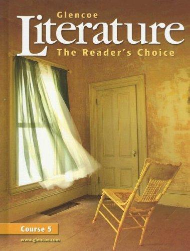 9780078454806: The Reader's Choice: Course 5 (Glencoe Literature)