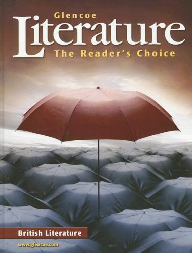 9780078454820: Glencoe Literature: The Readers Choice: British Literature