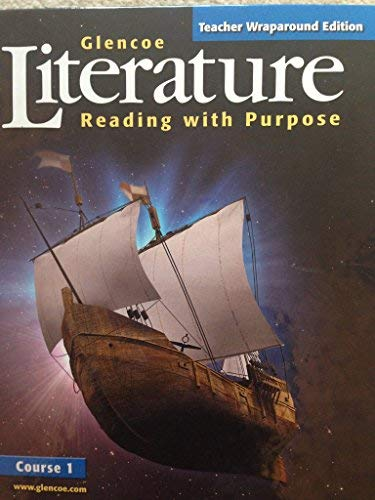 9780078454875: Glencoe Literature (Course 1): Teacher Wraparound Edition