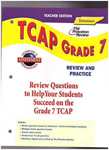 9780078456305: Glencoe Science Tennessee TCAP Grade 7 Review and Practice Teacher Edition2003