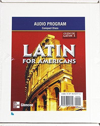 9780078456572: Latin for Americans Level 1: Audio Program