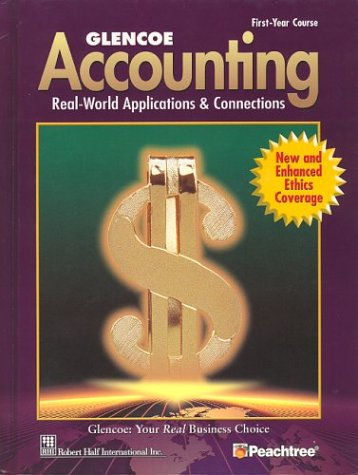 9780078456701: Glencoe Accounting First Year Course Student Edition