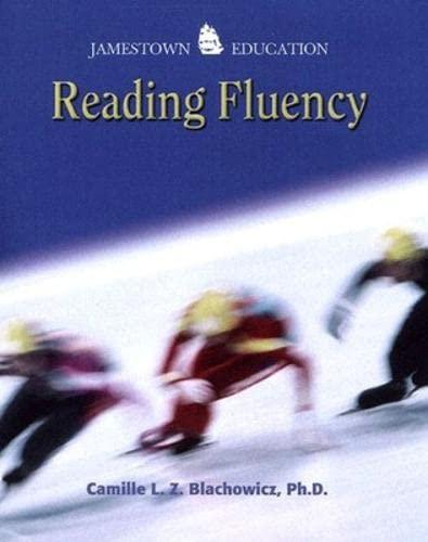 9780078457067: Reading Fluency: Reader's Record I