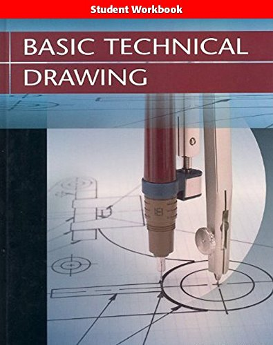 9780078457494: Basic Technical Drawing Student Edition Workbook 2004