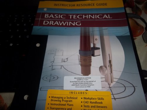 9780078457500: Basic Technical Drawing, Instructor Resource Guide