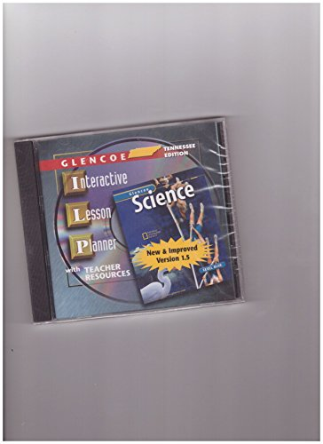 9780078457630: Interactive Lesson Planner With Teacher Resources Cd-ROM Tennessee Edition (Glencoe Science Level Blue)