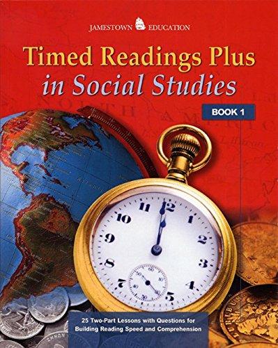 9780078457999: Timed Readings Plus in Social Studies: Book 1