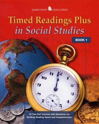 9780078458019: Timed Readings Plus in Social Studies: Book 3