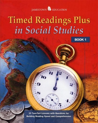 9780078458088: Timed Readings Plus in Social Studies: Book 10