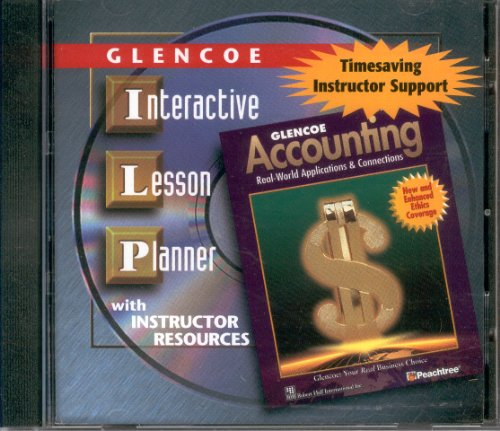 9780078461507: Interactive Lesson Planner cd-rom (Glencoe Accounting Real World Applications & Connections)