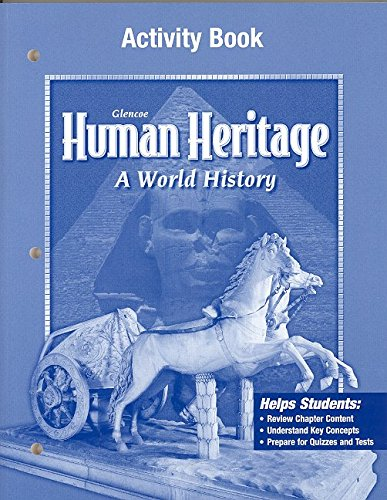 9780078462436: Human Heritage, Activity Workbook, SE