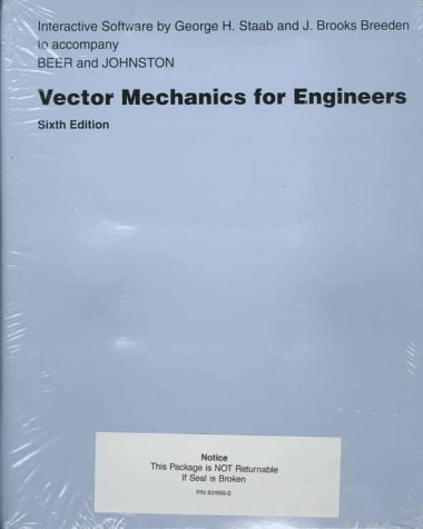 Vector Mechanics for Engineers: Statics and Dynamics (Macintosh Set) (0078471265) by Beer, Ferdinand Pierre; Johnston, E. Russell; Staab, George H.; Breeden, J. Brooks