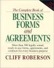 9780078526954: The Complete Book of Business Forms and Agreements