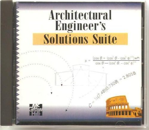9780078528941: Architectural Engineer's Solutions Suite (McGraw-Hill Interactive Engineering Calculations)