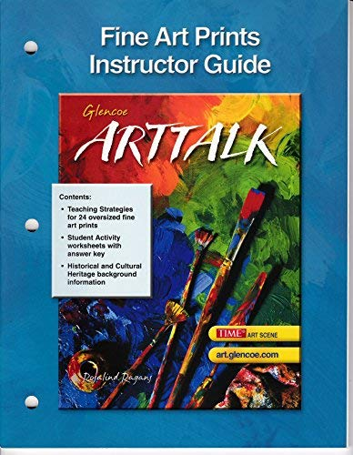 9780078592508: ArtTalk, Fine Art Prints [Instructor Guide]