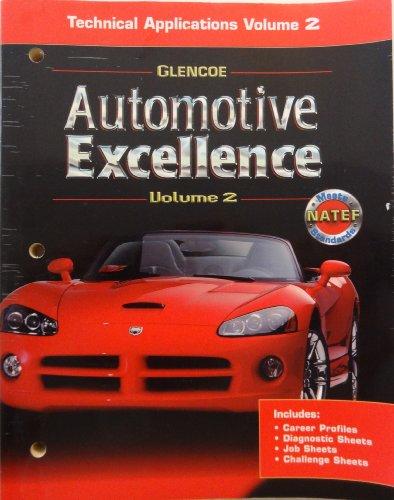 9780078600111: Automotive Excellence, Volume