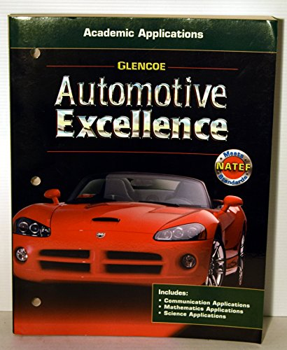 9780078600135: Automotive Excellence Academic Applications