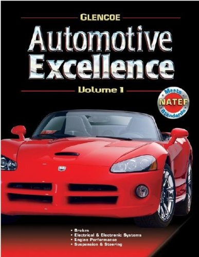 9780078600159: Automotive Excellence, Volume 1, Student Text