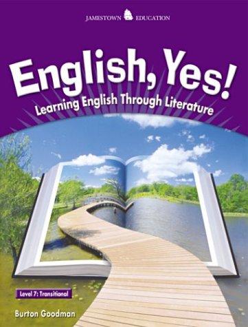 9780078600258: English, Yes! Level 7: Transitional