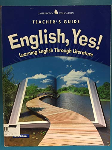 9780078600265: English, Yes! Level 1: Basic Teacher Guide (Learning English Through Literature)