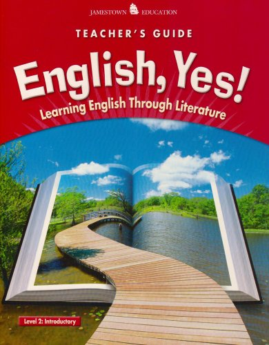 9780078600272: English Yes: Low Beginning- Teacher's Guide (Learning English Through Literature)