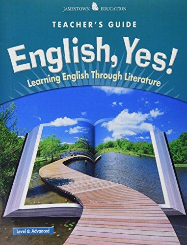9780078600319: English, YES!: Learning English Through Literature Advanced Level