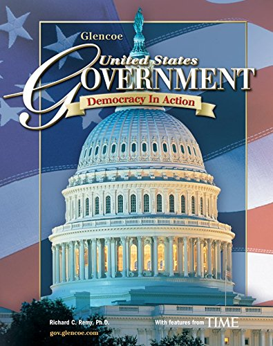 9780078600531: United States Government; Democracy in Action, Student Edition