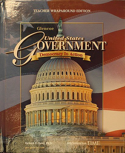 9780078600548: United States Government: Democracy in Action [Teacher Wraparound Edition] (Glencoe)
