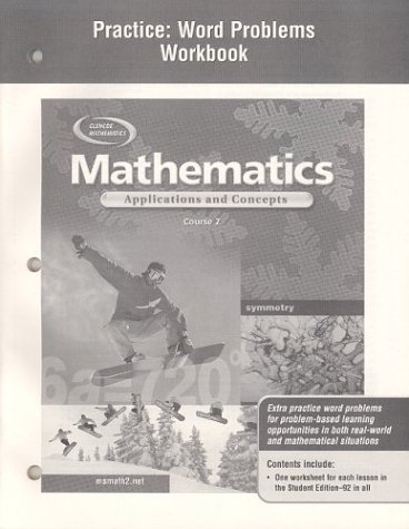 9780078601309: Practive Word Problems Book