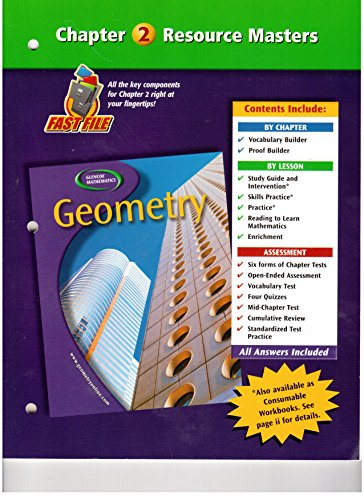 9780078601798: Geometry, Chapter 2 Resource Master