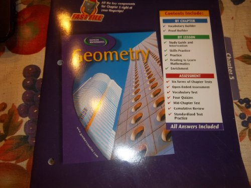 9780078601859: Geometry, Chapter 8 Resource Master