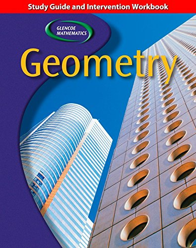 9780078601910: Geometry, Study Guide and Intervention Workbook