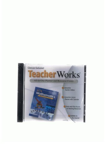 9780078602771: Glencoe Mathematics: Applications and Concepts, Teacher Works - Planner & Resource Center