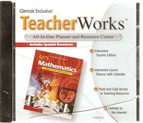 9780078602887: Glencoe Mathematics Applications and Concepts Course 1 Teacher Works