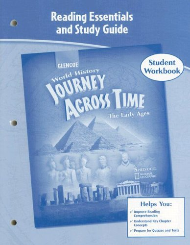 9780078603181: Journey Across Time, Early Ages, Reading Essentials and Study Guide, Workbook