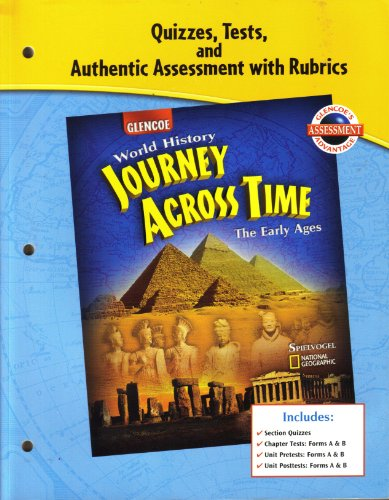 9780078603204: Quizzes, Tests, and Authentic Assessment with Rubrics for Glencoe