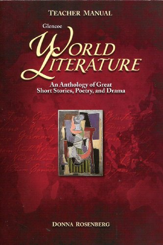 9780078603549: World Literature: Anthology of Short Stories, Poetry, and Drama  Teachers Manual