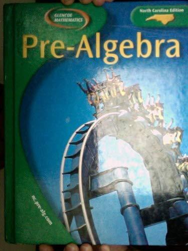 9780078603709: Pre-Algebra North Carolina Student Edition