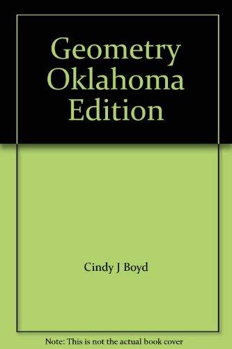 9780078603822: Geometry Oklahoma Edition