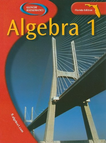9780078603907: Algebra 1 Florida (Glencoe Mathematics)