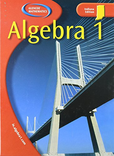 9780078603914: Algebra I: Indiana Ed