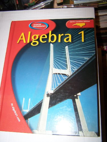 9780078603921: Algebra 1 North Carolina Edition
