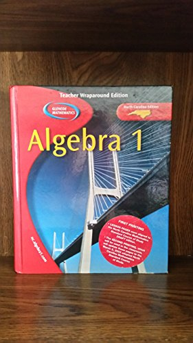 9780078603952: Algebra 1. TWE. North Carolina