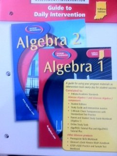 9780078604041: Algebra 1 Algebra 2 Guide to Daily Intervention Assessment/Intervention Indiana Edition