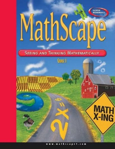 9780078604669: MathScape: Seeing and Thinking Mathematically, Course 1, Consolidated Student Guide (Glencoe Mathematics)